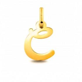 Colgante Inicial letra C Oro de Primera Ley 18 K