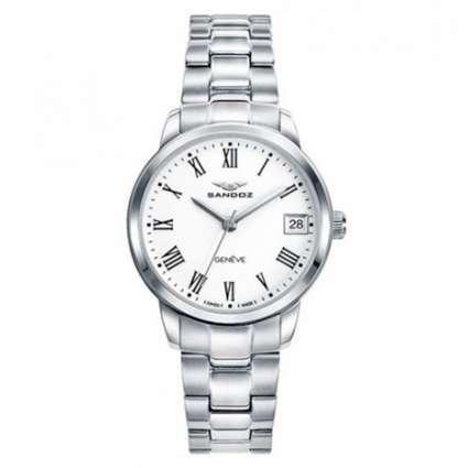 Reloj de acero para mujer Sandoz Elegant 81342-03