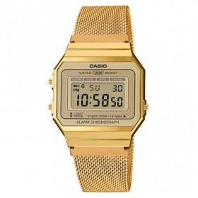 Reloj Casio Collection Digital dorado A700WEMG-9AEF Classic Edgy