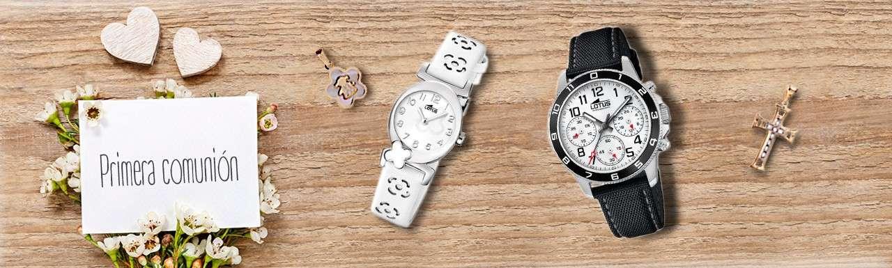 Relojes de comunión niño y niña ¡con descuento! Nomedigaskeno